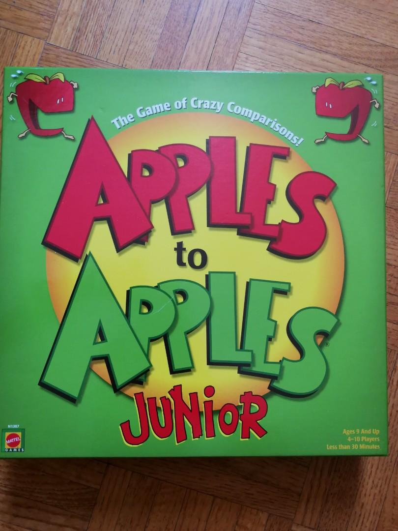 Apples to Apples Junior boardgame