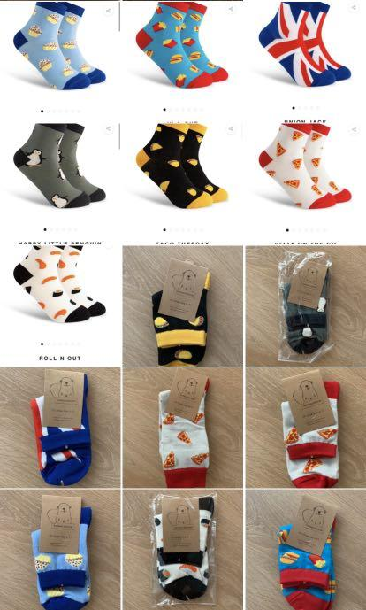 Brand new funky socks