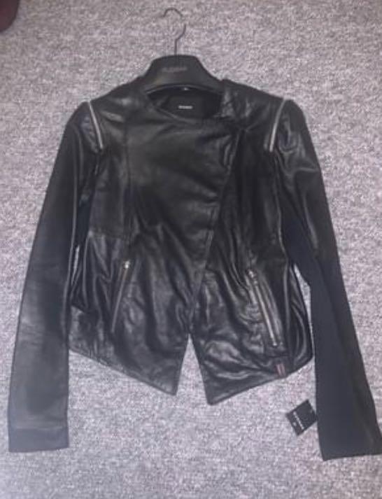 Brand new Rudsak Leather jacket size Small