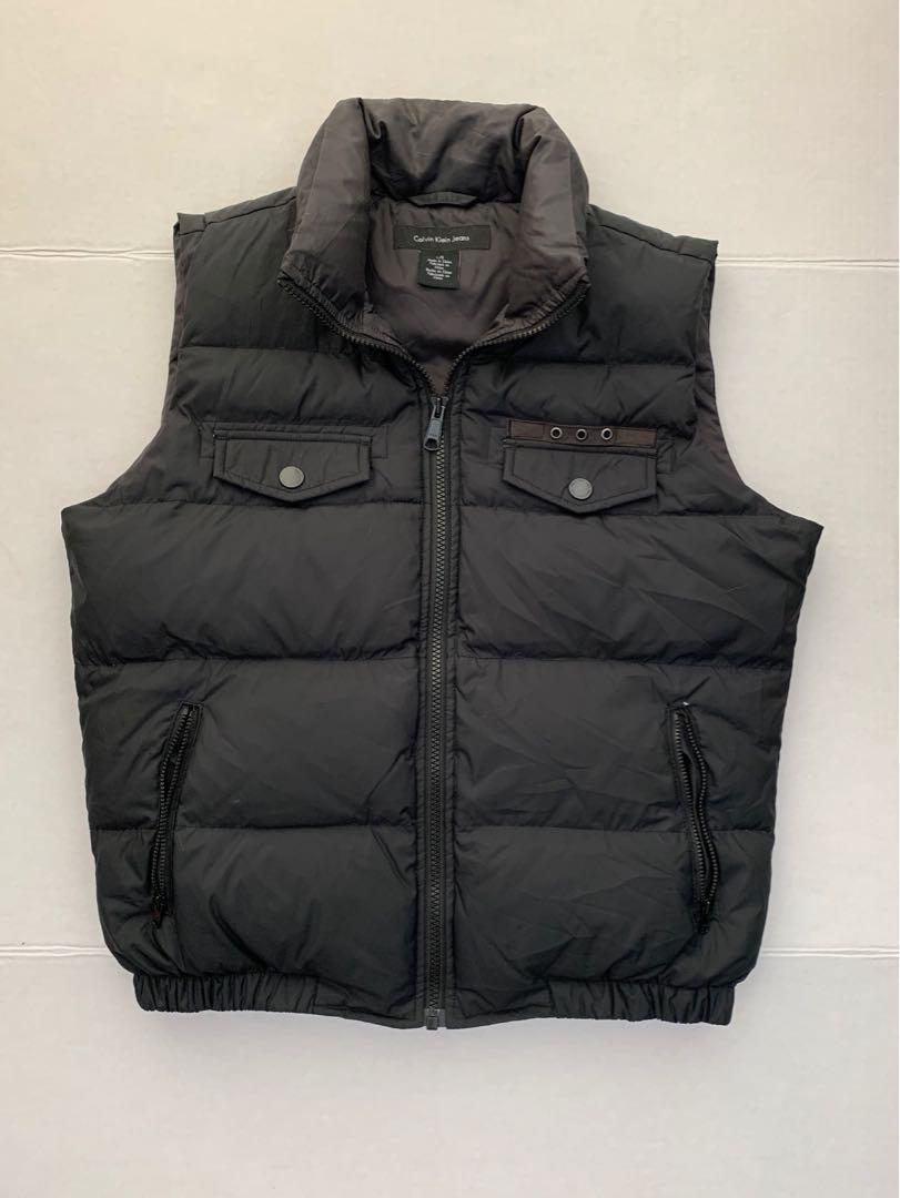Calvin Klein down vest women's large