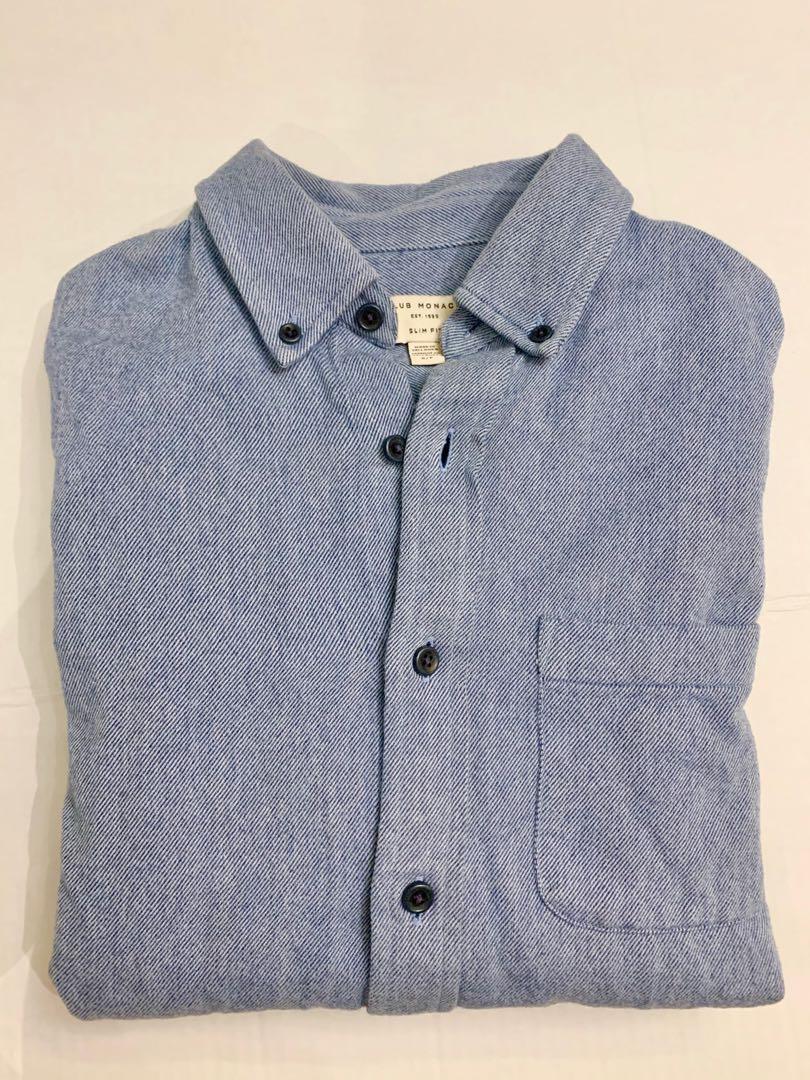 Club Monaco cotton wool shirt