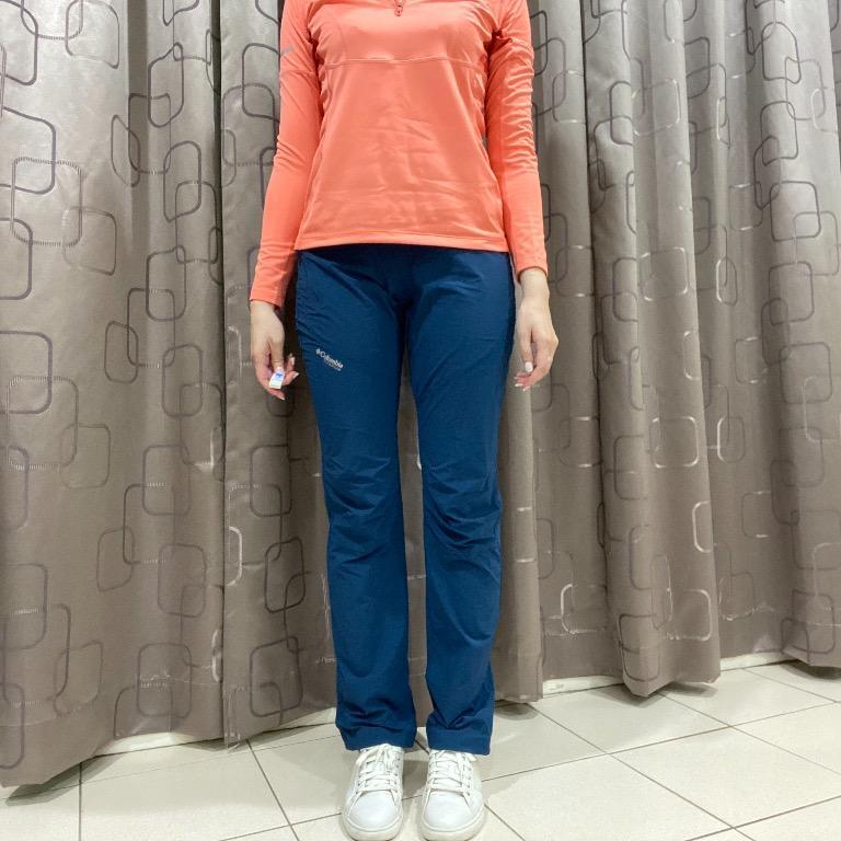 [Columbia] TITANIUM 系列 藍色輕量登山褲 機能褲