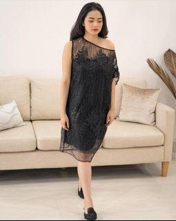 DIJUAL : Calla dress Black