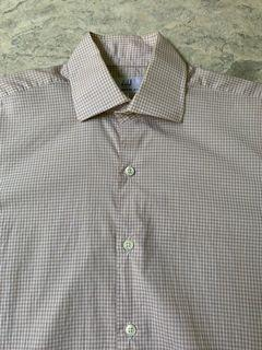 Dunhill London Engineered Fit Size 15 1/2 39