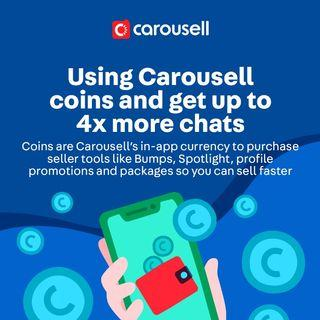 Ever wondered what Carousell Coins are?