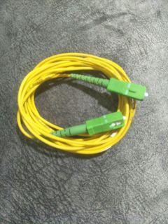 15 metres Fiber optic cable