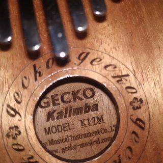 Gecko USA Kalimba K17M ORIGINAL full set