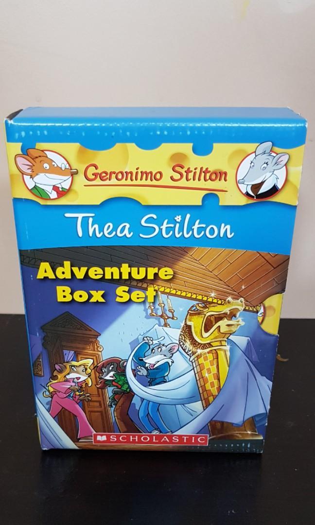 Geronimo Stilton Adventure Box Set