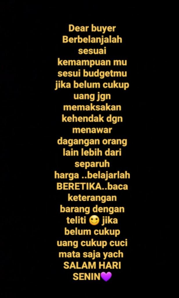 Info for all calon buyer