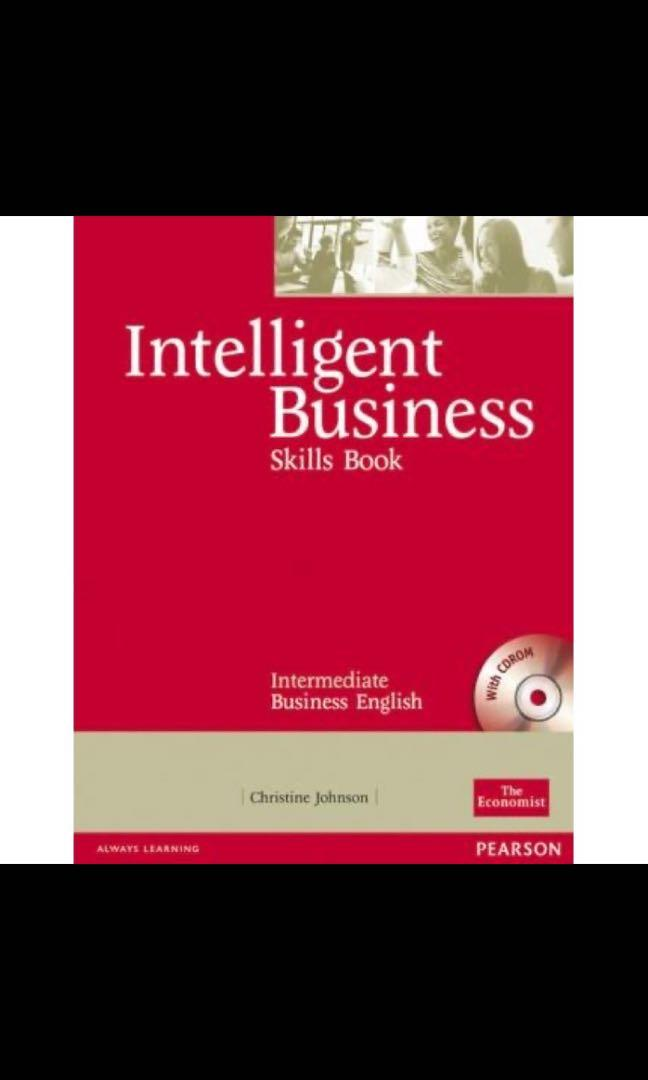 Intelligent business skills book