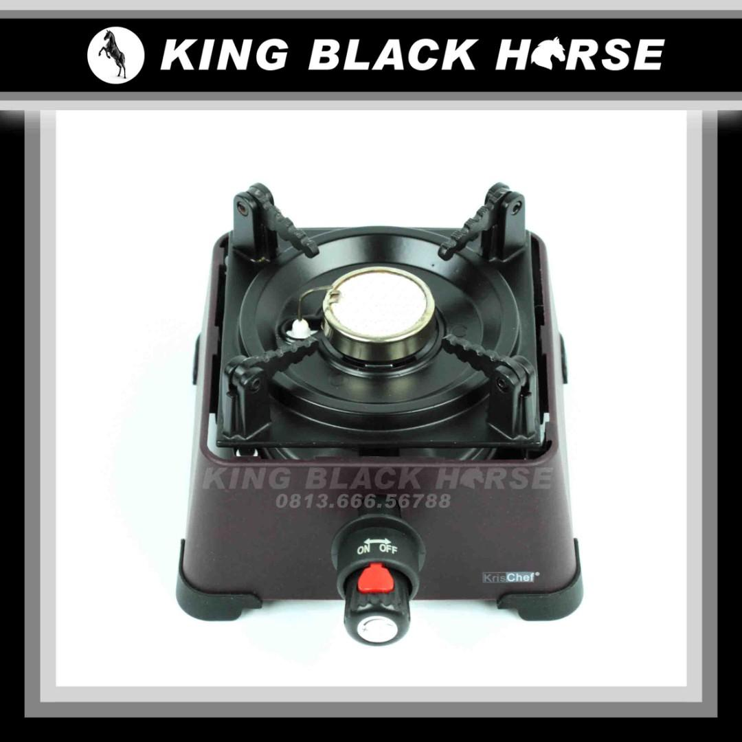 Kompor Mini Gas Burner Asli Krisbow/Ace