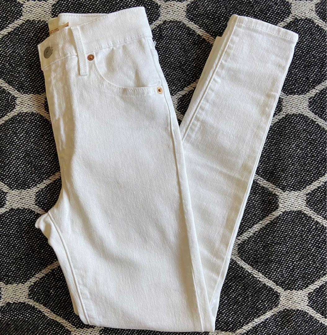 Levi's mile high ankle skinny size 25