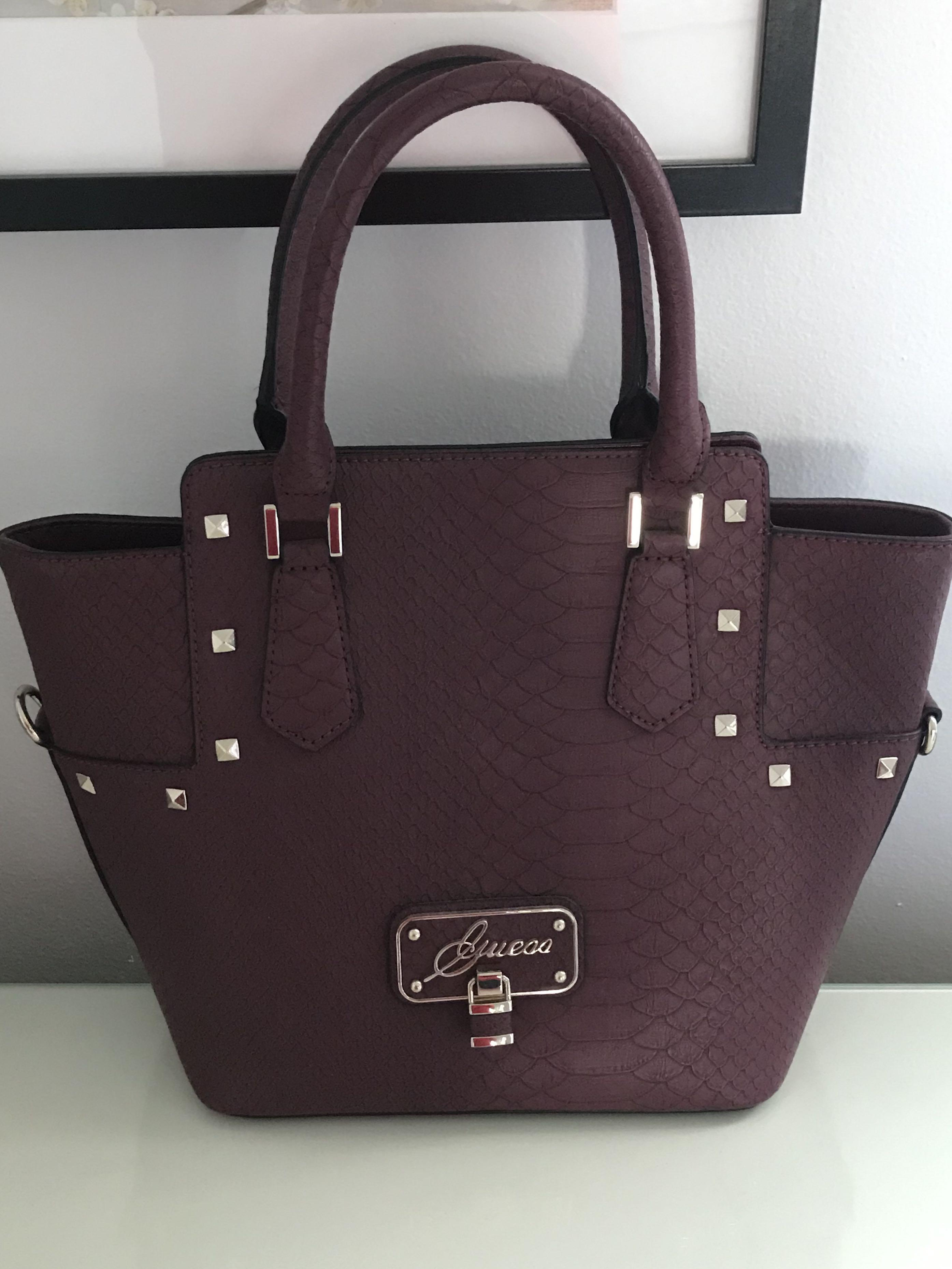 Maroon Guess Purse