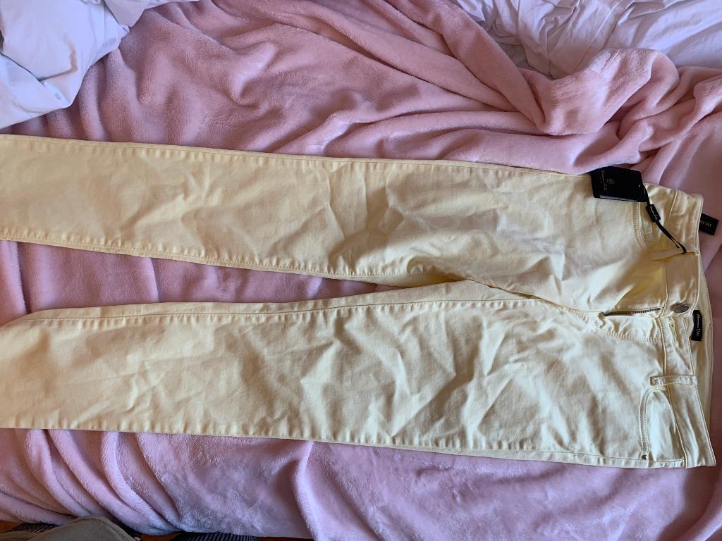 Massimo Dutti Yellow Pants