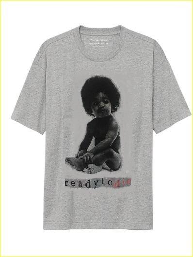 Men's Notorious BIG 'Ready to Die' T Shirt (Size L)