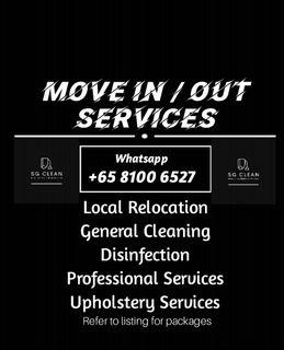 Move In Move Out, Post tenancy cleaning