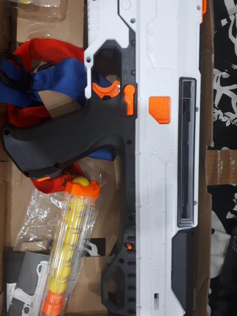 NERF Rival gun with extra ammo bought