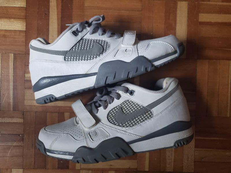 NIKE AIR TRAINER 2 White/grey size:8.5