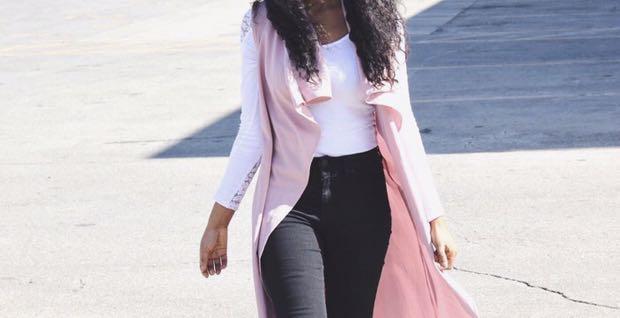 Pink Vest Cardigan