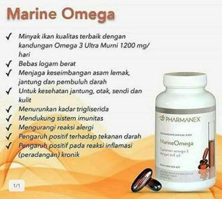 PREORDER 3 HARI - Marine Omega 120 Kapsul [ORIGINAL]