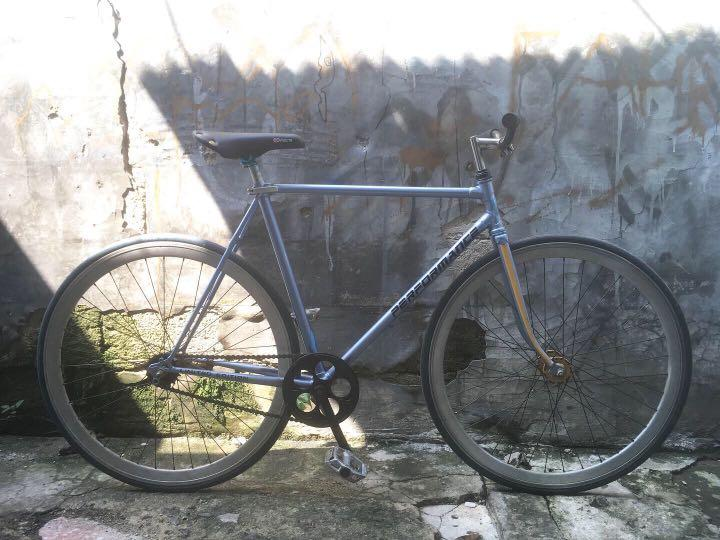 Sepeda fixie frame balap jadul 700c mtb commuter bike torpedo murah bagus seli