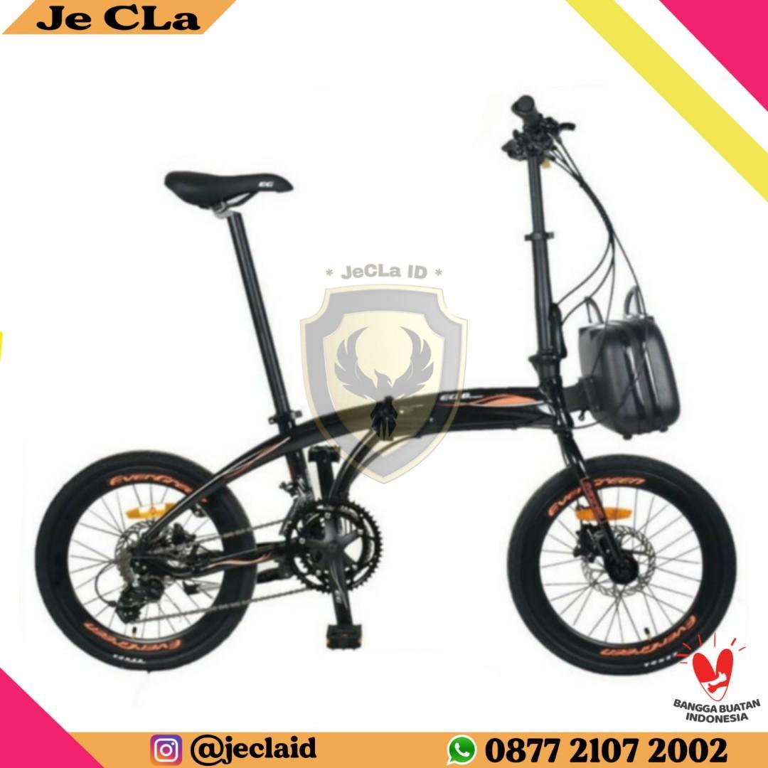 Sepeda Lipat 20 EVERGREEN EG 8 EDGE (Cash/Credit) Free Admin DP 200rb