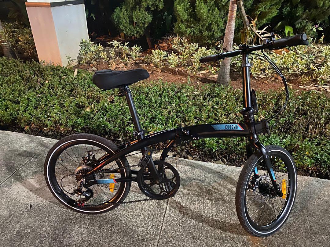 Sepeda Lipat Element Ecosmo 7plus