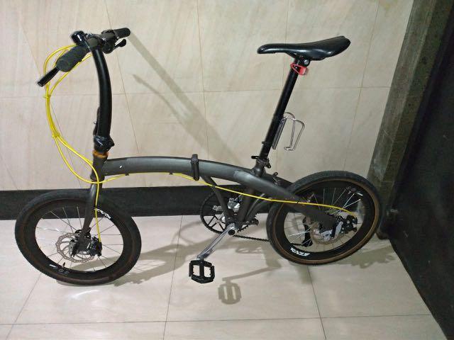 Sepeda Lipat odessy upgraded ++