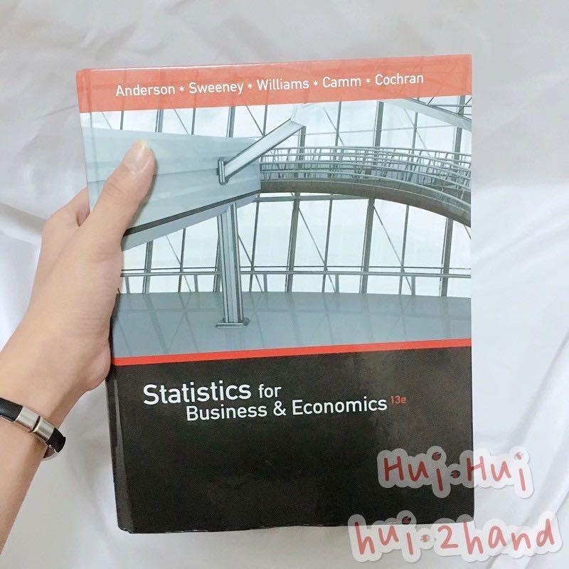 Statistics for Business & Economics 13e 統計學