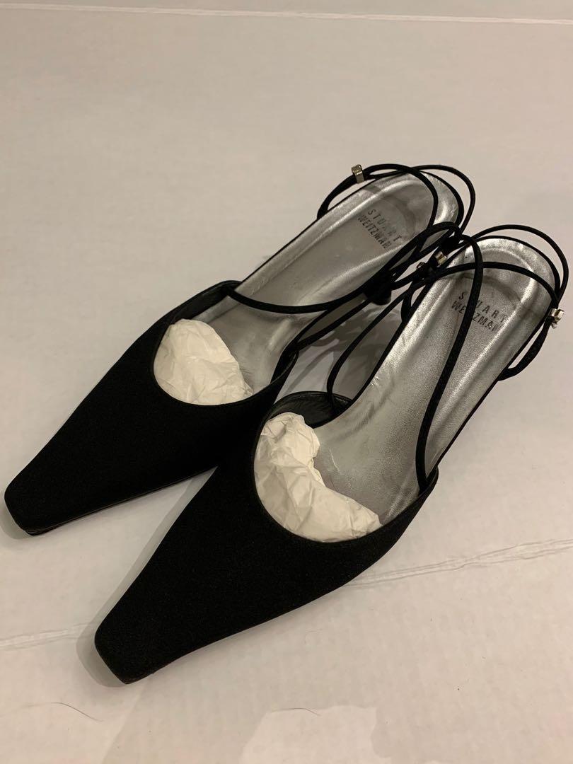 Stuart Weitzman mid heels sandals