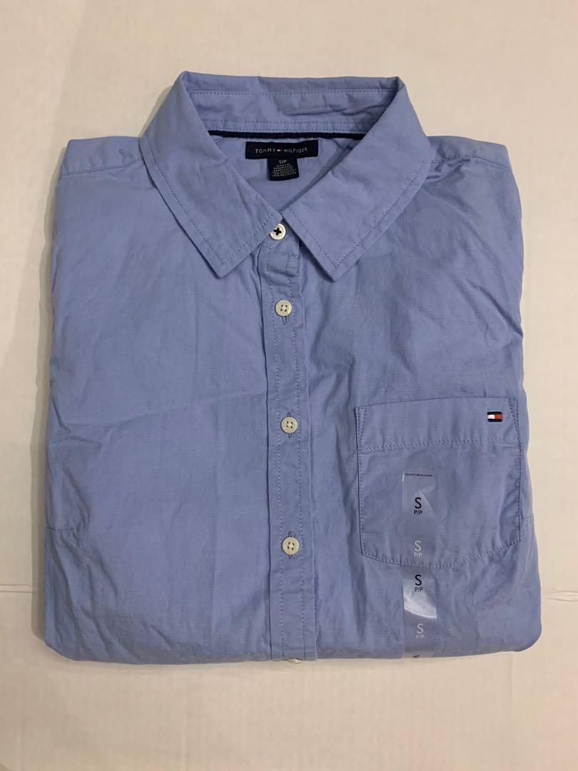 Tommy Hilfiger cotton shirt men's small