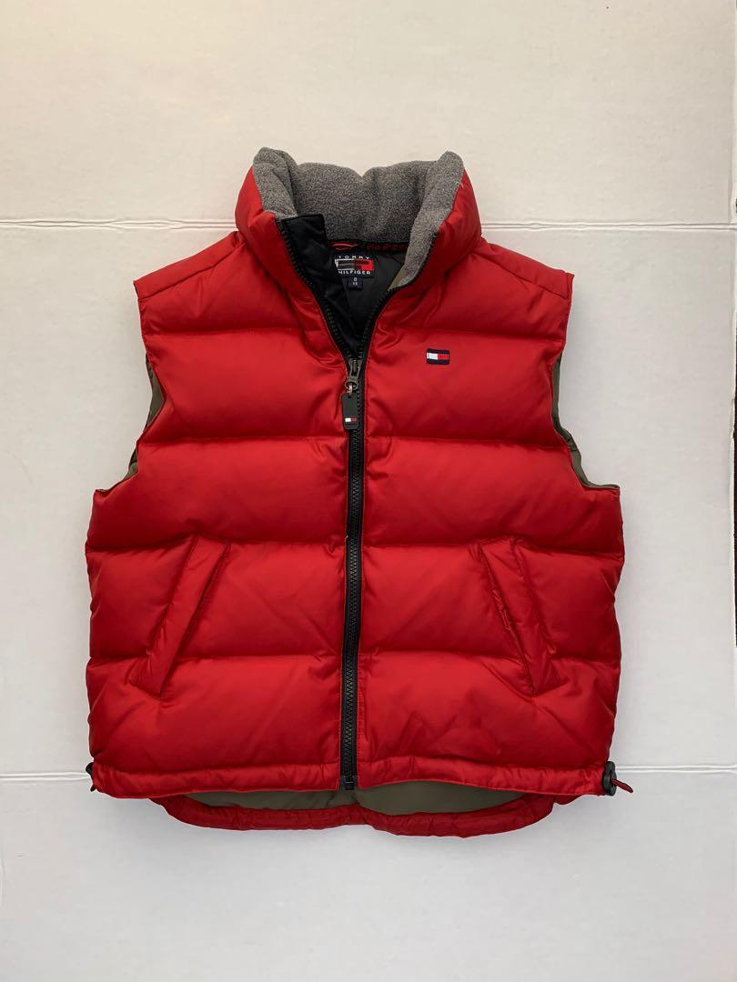 Tommy Hilfiger down vest women's xs