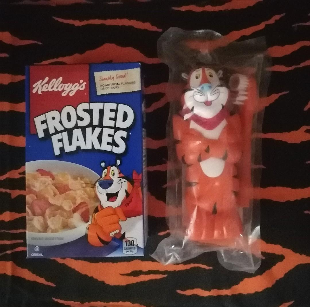 Tony The Tiger Electric Toothbrush/Cereal