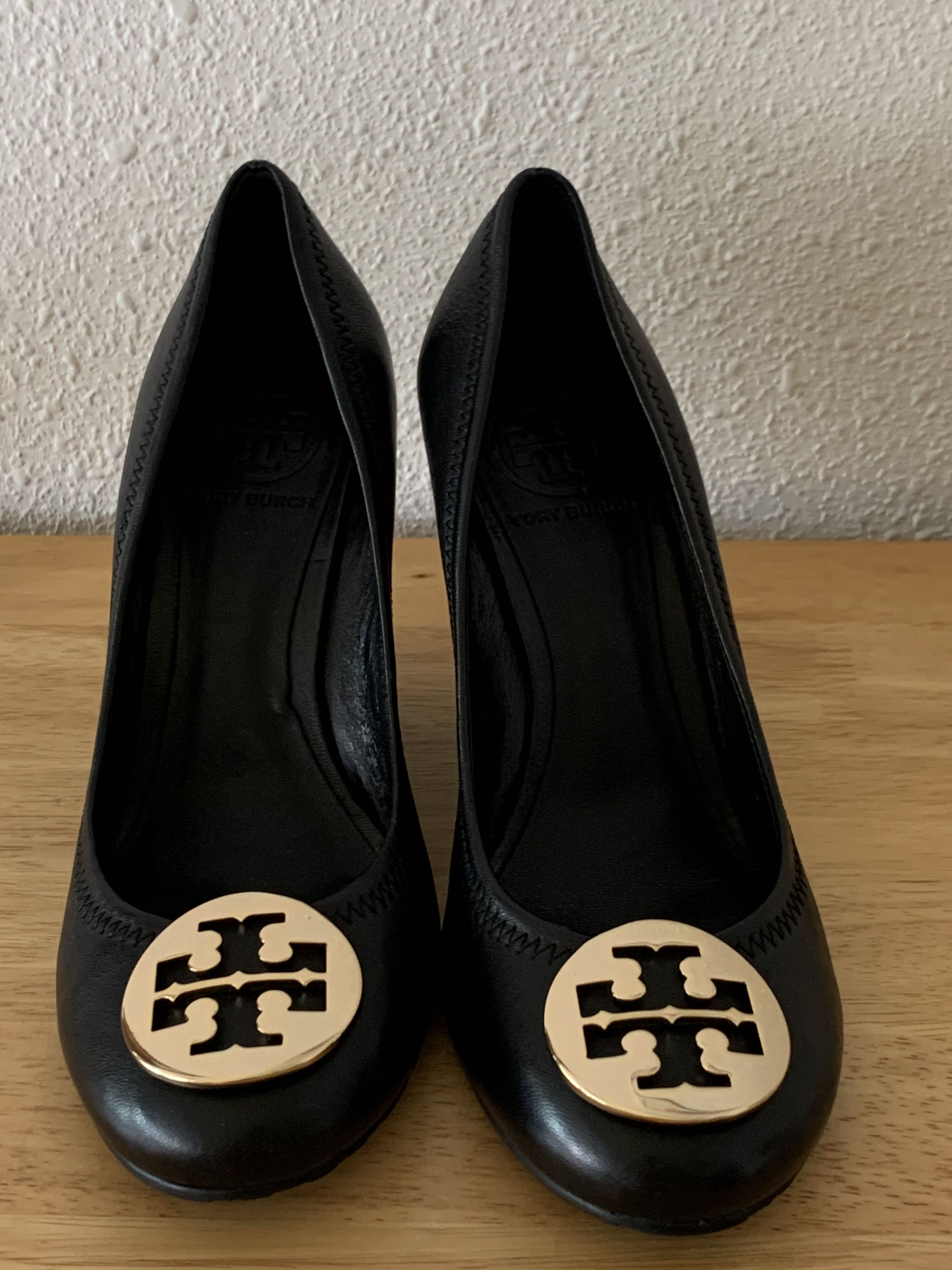 Tory Burch Sophie Wedge Mestico Leather