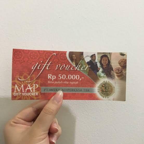 Voucher MAP 50 ribu