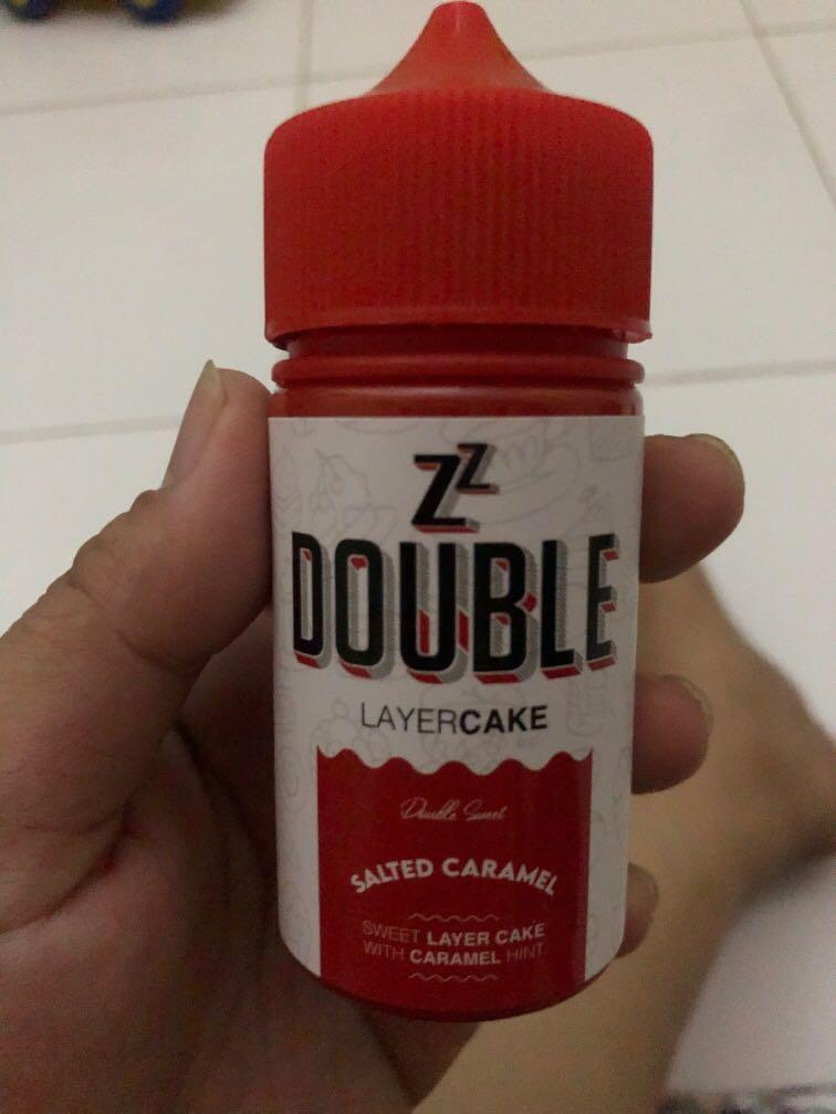 ZZ DOUBLE LAYER CAKE SALTED CARAMEL LIQUID