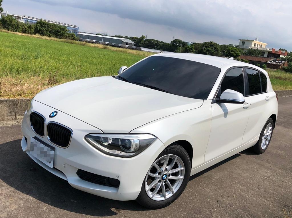 2014年 BMW 118I 白色 總代理
