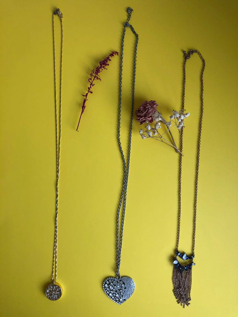 5 Necklaces - $5 each - $20 for all 5