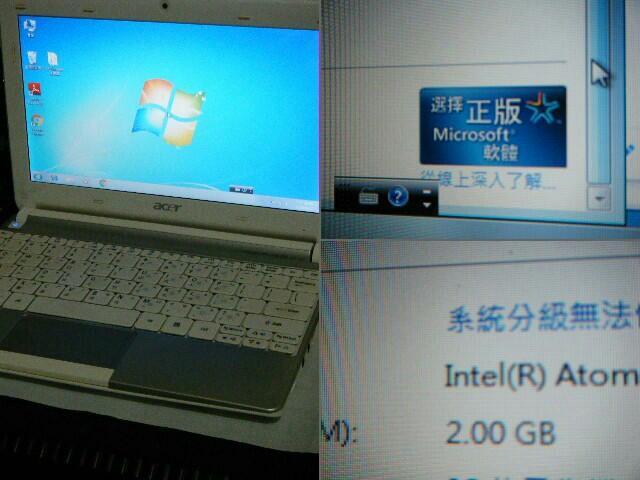 {9成新} Acer aspire one D257 小筆電_HT四核 升級2G RAM 含變壓器 [可面交]