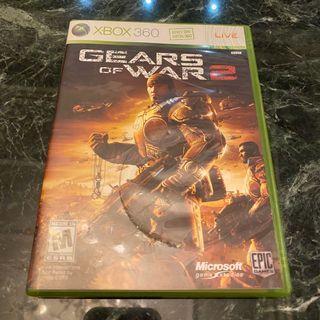 (7 成新!) 戰爭機器2 - Gear of War 2 - XBOX game 360 遊戲片!