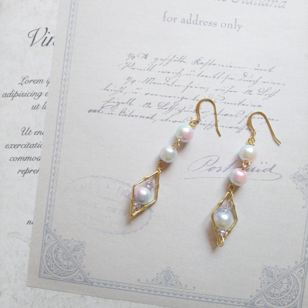 人魚公主的珍珠耳環