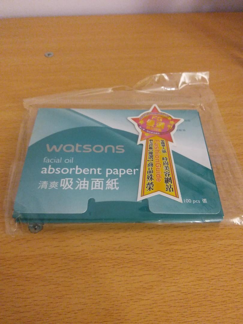 吸油面紙 6包