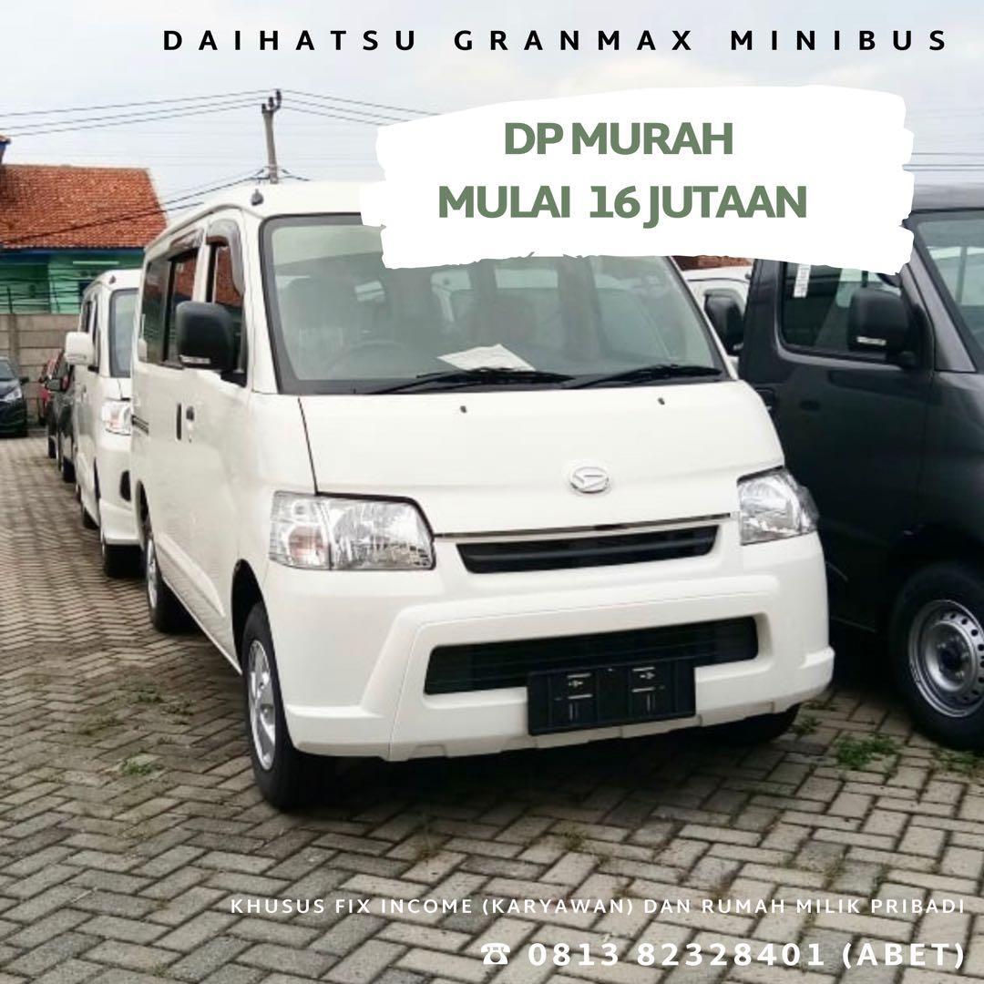 ANGSURAN MURAH Daihatsu Granmax Minibus mulai 3 jutaan. Daihatsu Fatmawati