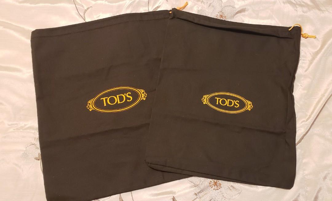 Authentic Tod's Draw String Dust Bags