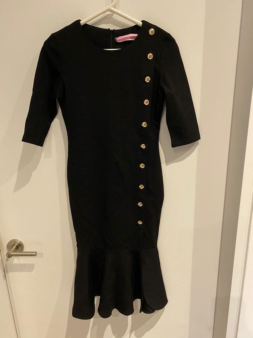 Black dress - size S