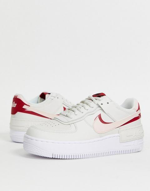 Brand New Authentic Nike Air Force 1 Shadow Trainers In Off White And Pink Women S Fashion Shoes Sneakers On Carousell And while tonal pairs have secured bruce kilgore's 1982 design a spot within th. carousell