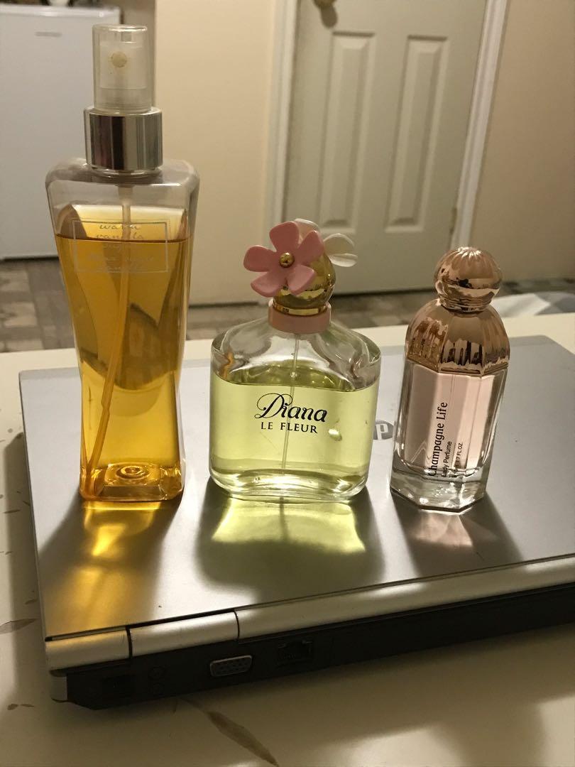 Body mist & perfume