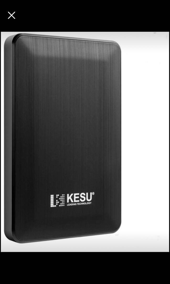 Brand new 2.5 250GB Ultra Slim Portable External Hard Drive