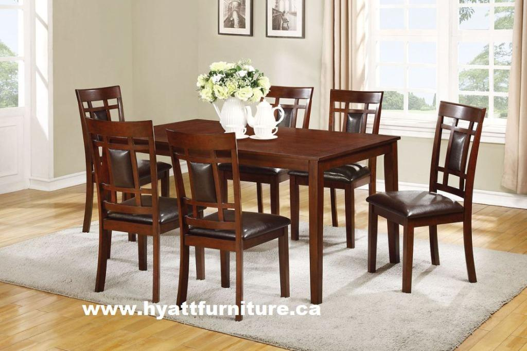 Brand new 7pcs Solid wood Dinette