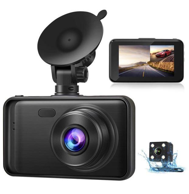 Brand new Dash Cam Front and Rear 1080P FHD Driving